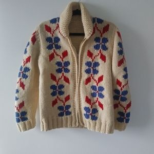 Sweaters - Vintage 50s curling sweater